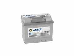 Autobaterie VARTA SILVER Dynamic 63Ah, 12V, 563401061 (563401061)
