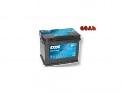 Autobaterie EXIDE Start-Stop AGM 60Ah, 680A, 12V, EK600 (EK600)