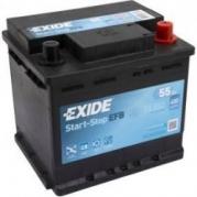 Autobaterie EXIDE Start-Stop EFB 55Ah, 480A, 12V, EL550 (EL550)