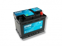 Autobaterie EXIDE Start-Stop EFB 60Ah, 640A, 12V, EL600 (EL600)