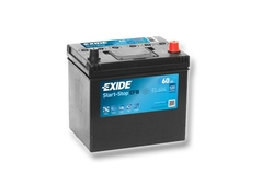 Autobaterie EXIDE Start-Stop EFB 60Ah, 520A, 12V, EL604 (EL604)