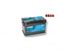 Autobaterie EXIDE Start-Stop EFB 65Ah, 650A, 12V, EL652 (EL652)