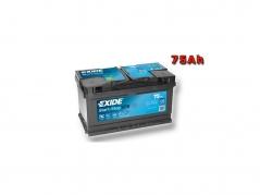 Autobaterie EXIDE Start-Stop EFB 75Ah, 730A, 12V, EL752 (EL752)