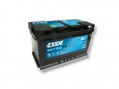 Autobaterie EXIDE Start-Stop EFB 80Ah, 720A, 12V, EL800 (EL800)