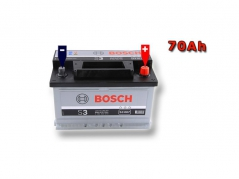 Autobateria BOSCH S3 0092S30070, 70Ah, 640A, 12V (0092S30070)