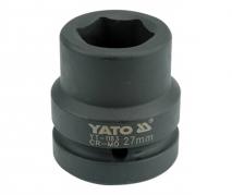 """Nadstavec 1"""" rázový šesťhranný 27 mm CrMo (YT-1183)"""