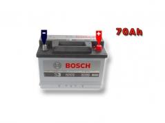 Autobateria BOSCH S3 0092S30080, 70Ah, 640A, 12V (0092S30080)
