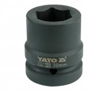 """Nadstavec 1"""" rázový šesťhranný 30 mm CrMo (YT-1186)"""