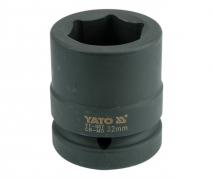 """Nadstavec 1"""" rázový šesťhranný 32 mm CrMo (YT-1187)"""