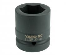 """Nadstavec 1"""" rázový šesťhranný 33 mm CrMo (YT-1188)"""