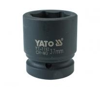"""Nadstavec 1"""" rázový šesťhranný 37 mm CrMo (YT-1192)"""