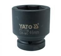 """Nadstavec 1"""" rázový šesťhranný 46 mm CrMo (YT-1196)"""