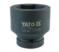 """Nadstavec 1"""" rázový šesťhranný 50 mm CrMo (YT-1198)"""