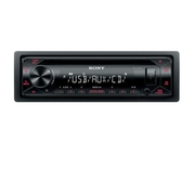 Autorádio SONY, 1 DIN s CD, AUX, USB, červené CDXG1300U.EUR (TSS-CDXG1300U.EUR)