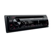 Autorádio SONY, 1DIN s CD, USB, BT, červené MEXN4300BT.EUR (TSS-MEXN4300BT.EUR)