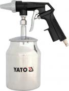 Pieskovacia pištoľ so zásobníkom 1.0L 160l/min (YT-2376)