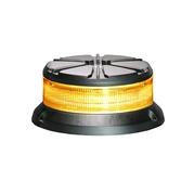 LED výstražný maják, 24LED, 12-24V, 3-bodový úchyt, R65, oranžový, 911FD24-A (TSS-911FD24-A)