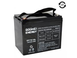 Trakční baterie Goowei AGM OTL75-12, 75Ah, 12V (E6041)