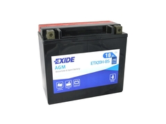 Motobatéria EXIDE BIKE Maintenance Free 18Ah, 12V, YTX20H-BS (E5024)