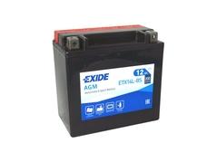 Motobatéria EXIDE BIKE Maintenance Free 12Ah, 12V, YTX14L-BS (E6629)