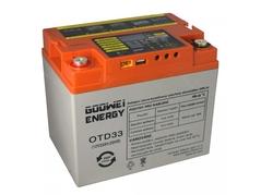 Trakční baterie Goowei Energy OTD33 Deep Cycle (GEL) 33Ah, 12V (E7304)