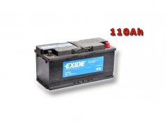 Autobaterie EXIDE Excell 110Ah, 12V, EB1100 (EB1100)