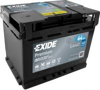 Autobaterie EXIDE Premium 64Ah, 640A, 12V, EA640 (EA640)
