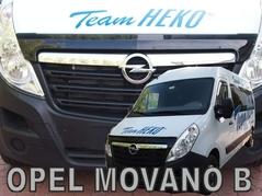Kryt přední kapoty HEKO Opel Movano B od 2010 (02154)