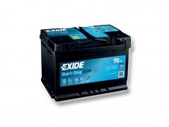 Autobaterie EXIDE Start-Stop AGM 70Ah, 760A, 12V, EK700 (EK700)