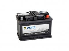 Autobaterie VARTA PROMOTIVE BLACK 66Ah, 510A, 12V, D33, 566047051 (566047051)