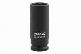 """Nadstavec 29 mm CrMo 1/2"""" rázový šesťhranný hlboký  (YT-1049)"""