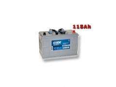 Autobaterie EXIDE Professional Power HDX 120Ah, 12V, EF1202 (EF1202)