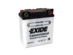 Motobaterie EXIDE BIKE Conventional 6Ah, 6V, 6N6-3B-1 (E5049)