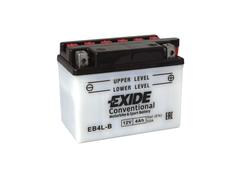 Motobaterie EXIDE BIKE Conventional 4Ah, 12V, YB4L-B (E5028)