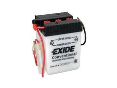 Motobaterie EXIDE BIKE Conventional 4Ah, 6V, 6N4-2A-4 (E5048)