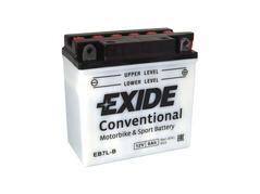Motobaterie EXIDE BIKE Conventional 8Ah, 12V, YB7L-B (E5030)