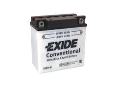 Motobaterie EXIDE BIKE Conventional 9Ah, 12V, YB9-B (E5031)