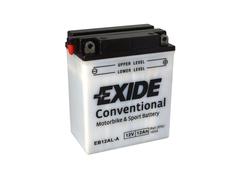 Motobaterie EXIDE BIKE Conventional 12Ah, 12V, YB12AL-A (E5750)