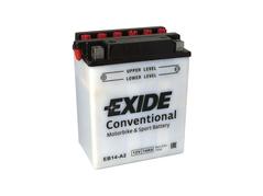 Motobaterie EXIDE BIKE Conventional 14Ah, 12V, YB14-A2 (E5036)